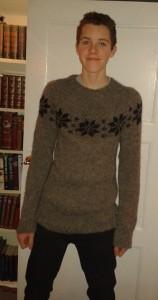 Søren med stjernesweater fra Wadils